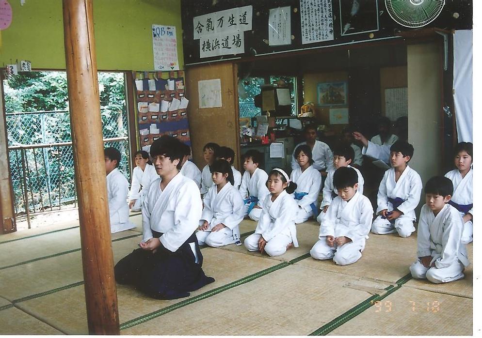 学童保育 15年前画像
