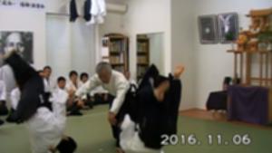 161106演武会_説明演武