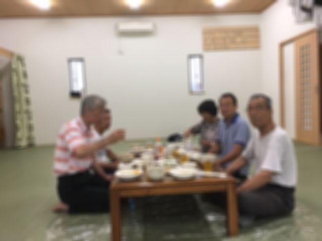 2017合宿夕飯風景