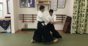 180922木剣四方投げ①